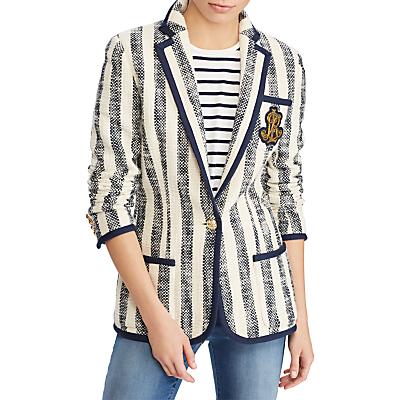 Lauren Ralph Lauren Breyven Cotton Jacket, Multi
