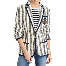 Buy Lauren Ralph Lauren Breyven Cotton Jacket, Multi Online at johnlewis.com