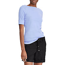 Buy Lauren Ralph Lauren Judy Cotton T-Shirt Online at johnlewis.com