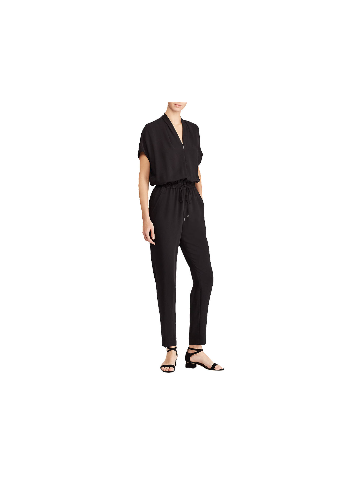 c81b88e04bc Buy Lauren Ralph Lauren Jaleeza Drawstring Twill Jumpsuit