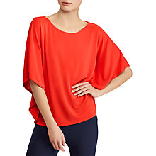 Buy Lauren Ralph Lauren Laurianna Top, Tomato Online at johnlewis.com