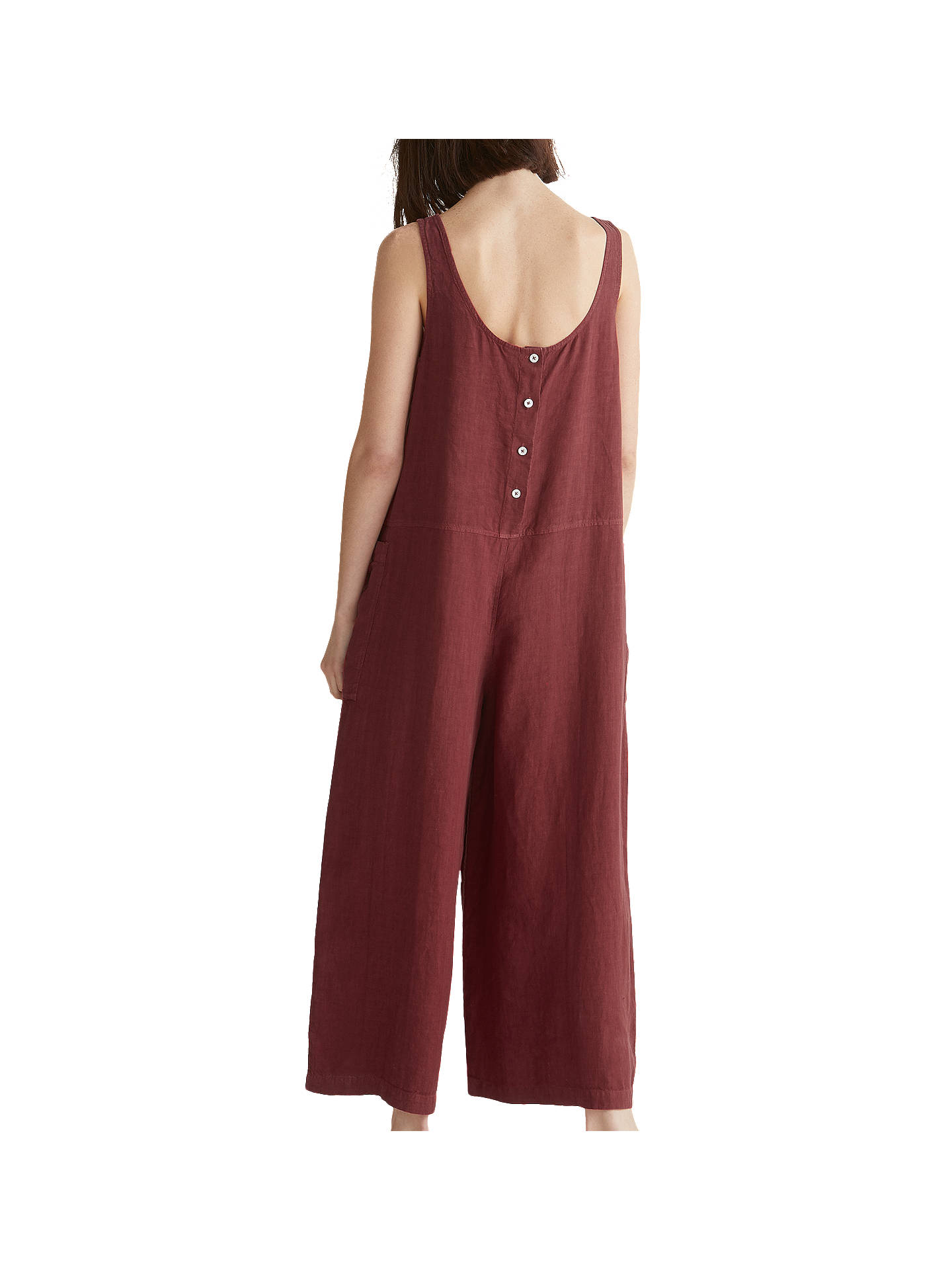80b832e7e2ce Toast Garment Dyed Linen Jumpsuit at John Lewis   Partners