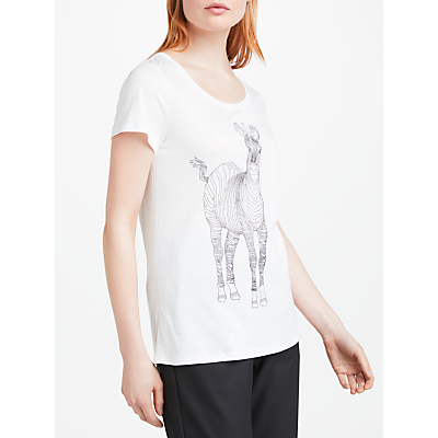 Marc Cain Zebra T-Shirt, Off White