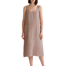 Buy Toast Ticking Stripe Linen Sun Dress Online at johnlewis.com