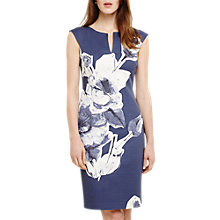 Buy Phase Eight Kember Floral Dress, Blue/Multi Online at johnlewis.com
