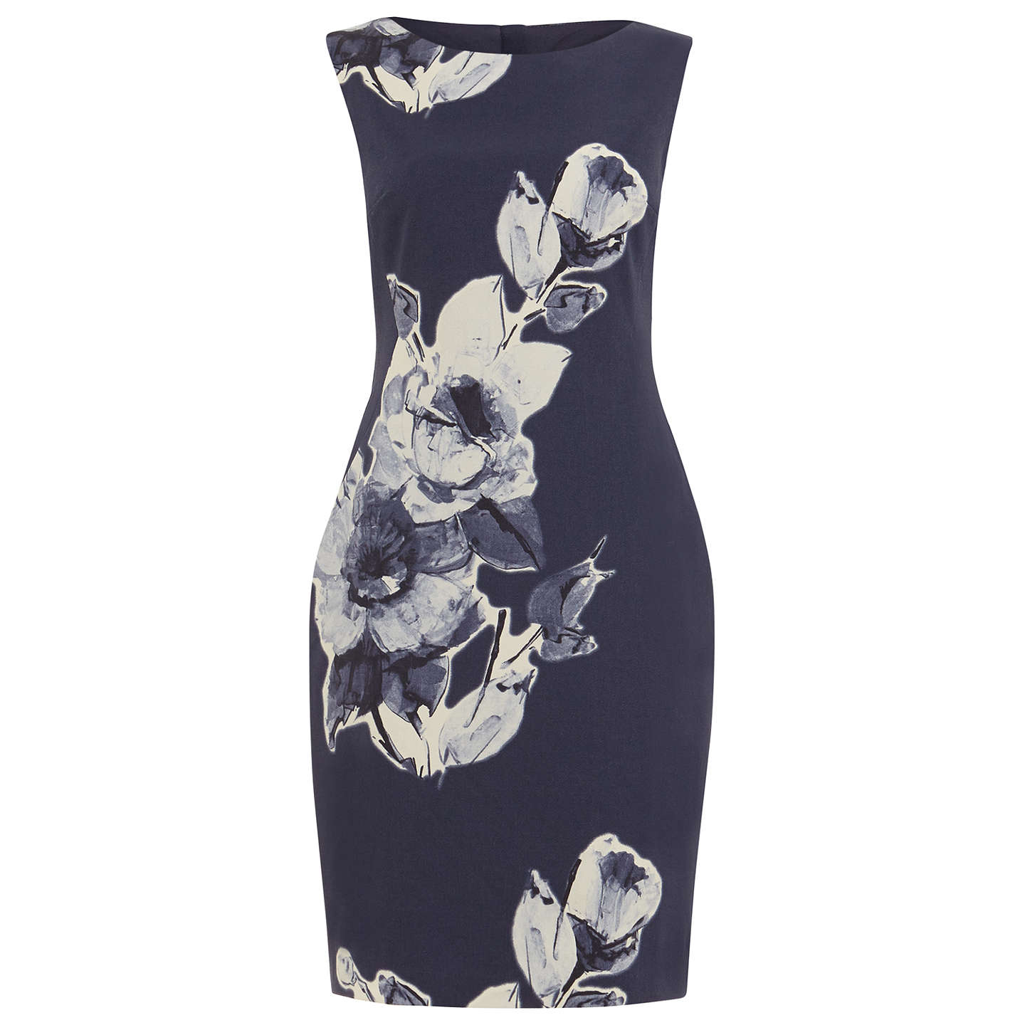 BuyPhase Eight Kember Floral Dress, Blue/Multi, 8 Online at johnlewis.com