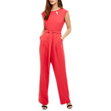 Buy Phase Eight Polly Cut Out Jumpsuit, Hot Pink Online at johnlewis.com