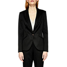 Buy Ted Baker Textured Tailored Jacket, Black Online at johnlewis.com