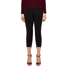 Buy Ted Baker Ankle Grazer Trousers, Black Online at johnlewis.com