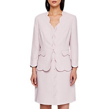 Buy Ted Baker Rubeye Scallop Edge Cropped Blazer Jacket Online at johnlewis.com