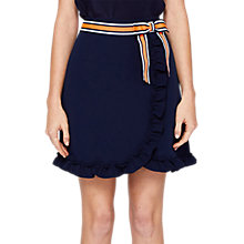 Buy Ted Baker Xzenia Bow Mini Skirt, Navy Online at johnlewis.com