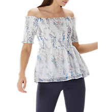 Buy Coast Priya Bardot Top, Multi Online at johnlewis.com