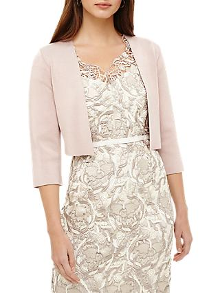 Phase Eight Salma Knit Jacket, Rose