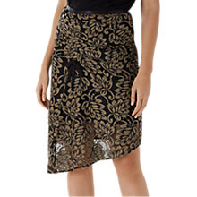 Buy Coast Aiden Lace Skirt, Olive Online at johnlewis.com