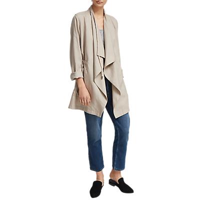 French Connection Ellesmere Drape Jacket, Palma Sand