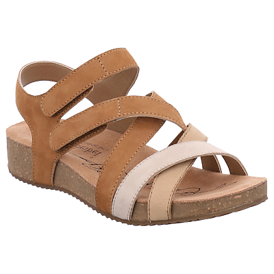Josef Seibel Tonga 37 Sandals, Natural Leather