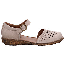 Buy Josef Seibel Rosalie 19 Flat Sandals, Cream Online at johnlewis.com