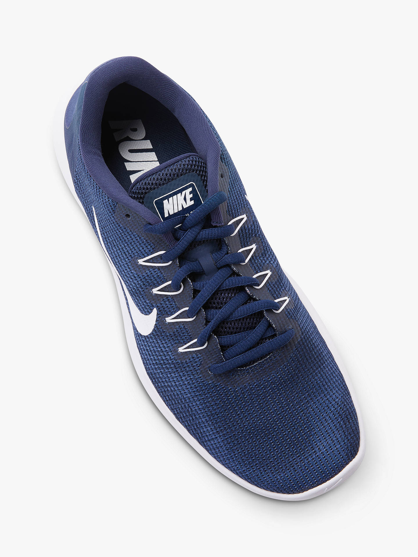 the latest ab240 5d8ba Nike Flex RN 2018 Men's Running Shoes, Midnight Blue/White ...