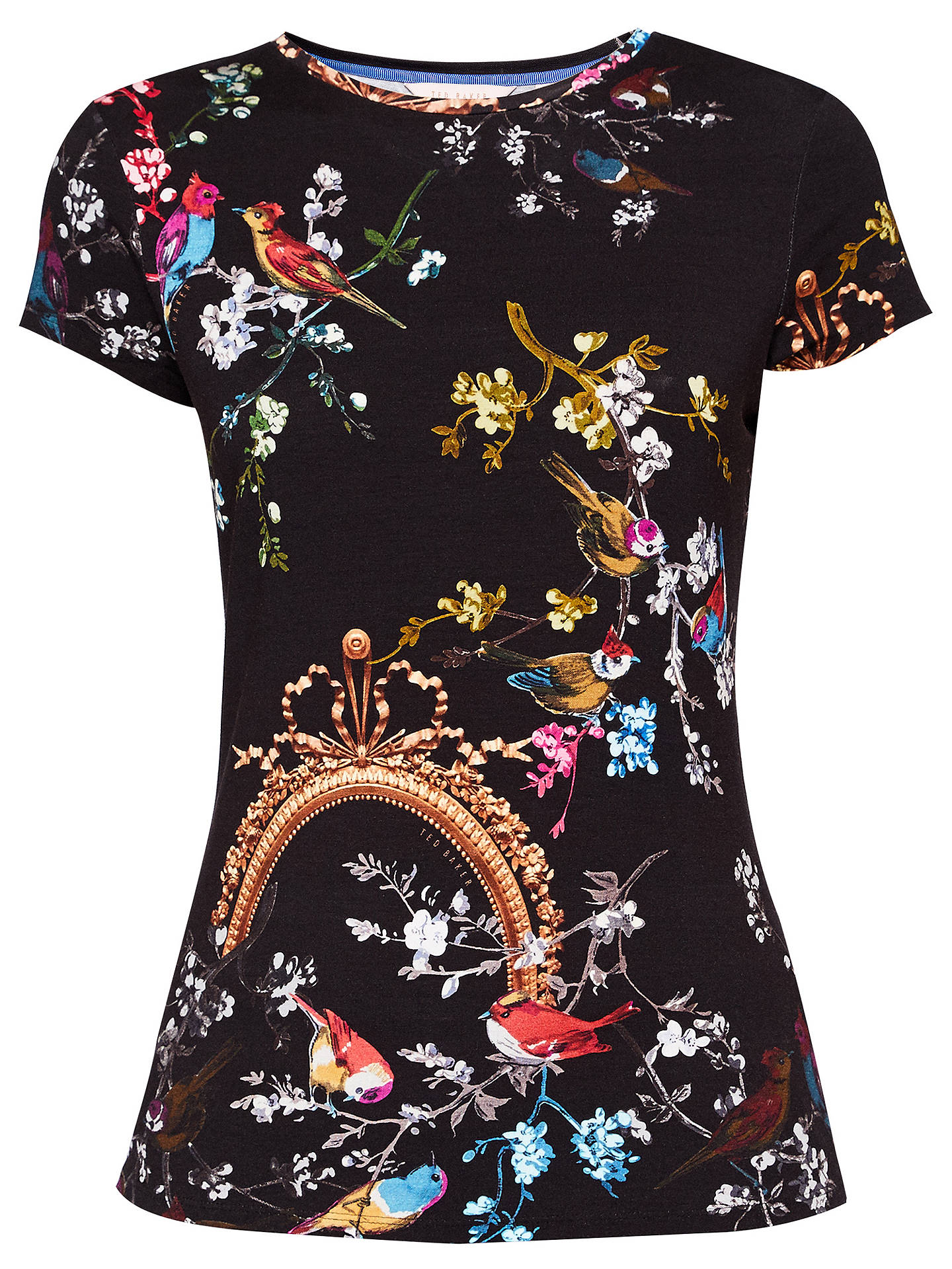 f646b87889e90 ... Buy Ted Baker Raynee Opulent Fauna Fitted T-Shirt