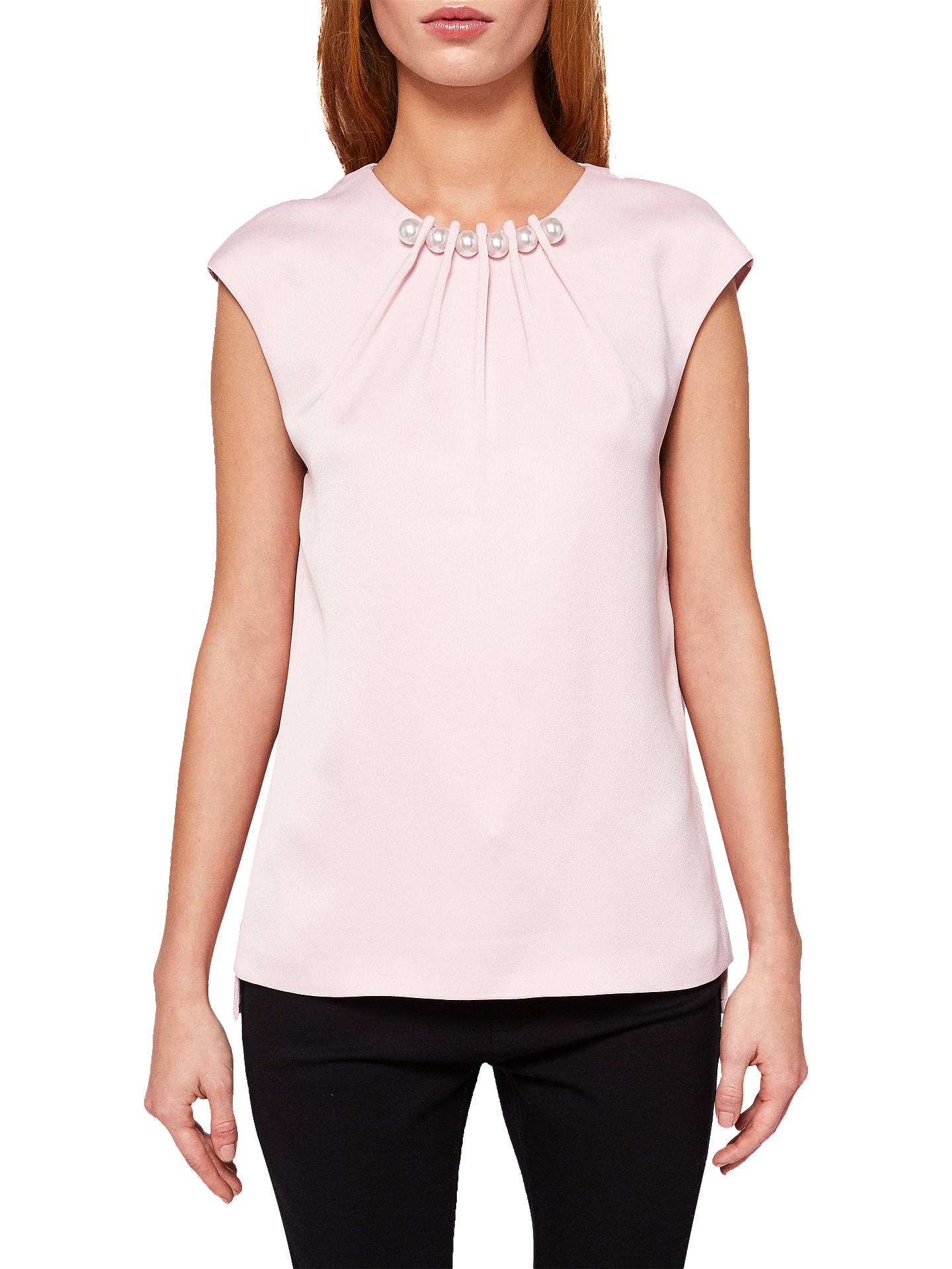 f723d9ef24241 Buy Ted Baker Camble Pearl Embellished Sleeveless Top