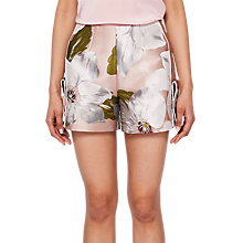Buy Ted Baker Chatsworth Bloom Jacquard Shorts, Dusty Bloom Online at johnlewis.com