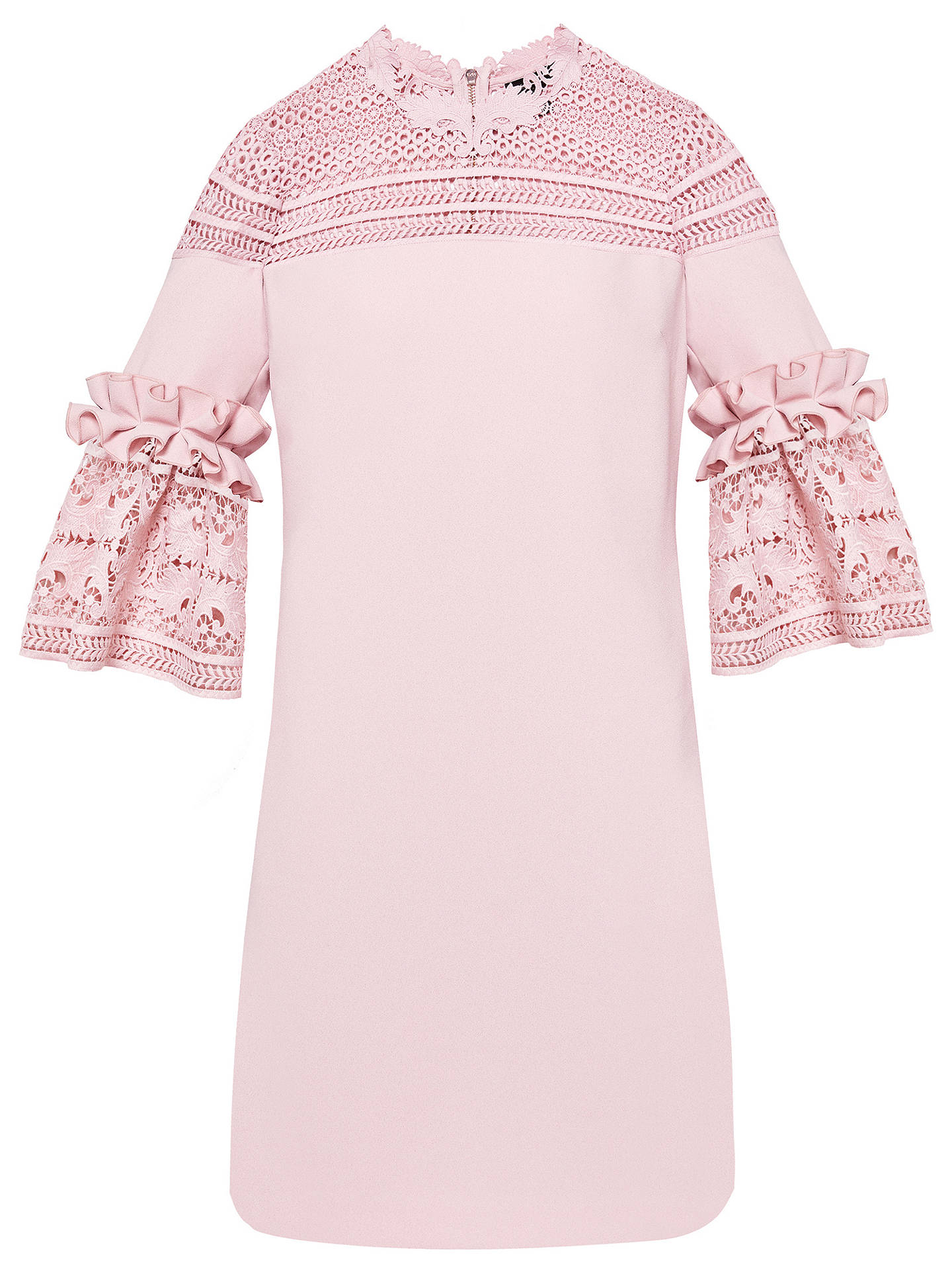 c48f38ab0 ... Buy Ted Baker Lucila Lace Bell Sleeved Tunic Dress