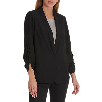 Betty & Co. Long Crepe Jacket, Black