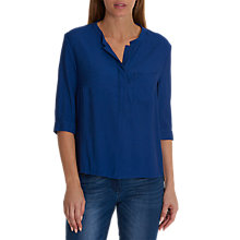 Buy Betty & Co. Single Pocket Blouse, Royal Blue Online at johnlewis.com