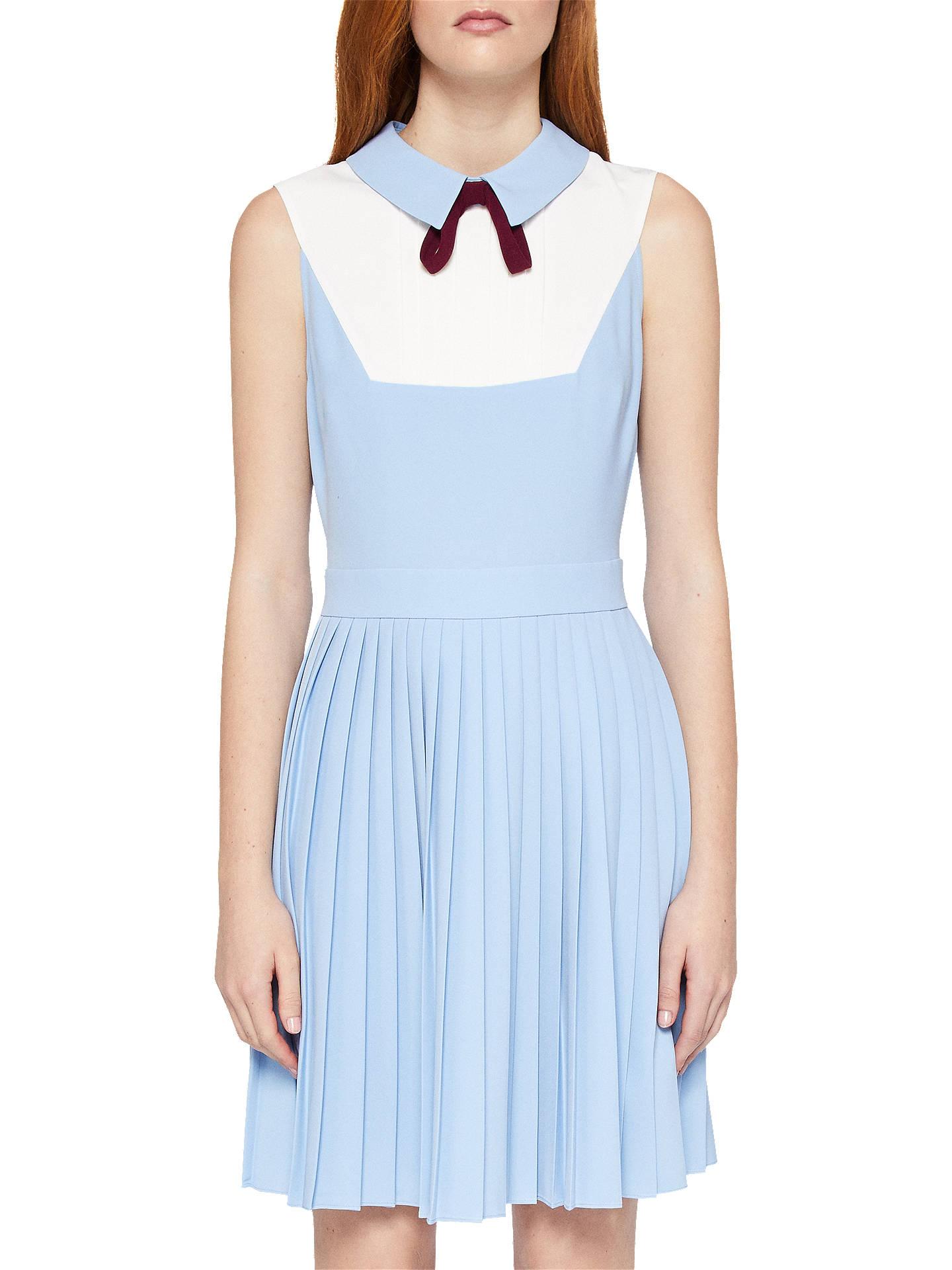 426c5aac5c BuyTed Baker Bib Pleat Dress