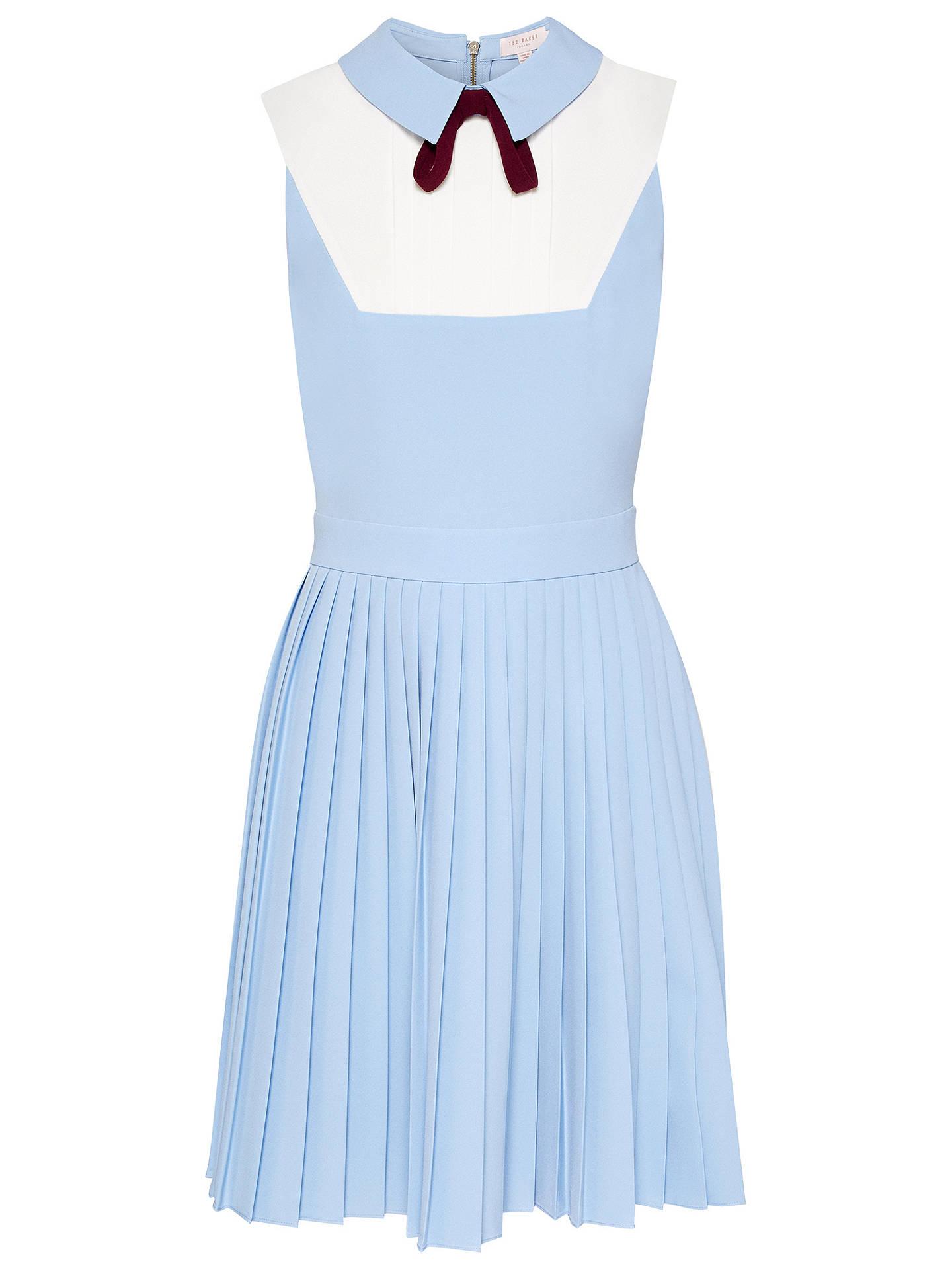 d50258828e ... BuyTed Baker Bib Pleat Dress