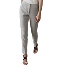 Buy Reiss Haven Tailored Trousers, Grey Online at johnlewis.com