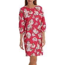 Buy Betty & Co. Floral Print Dress, Dark Pink Online at johnlewis.com