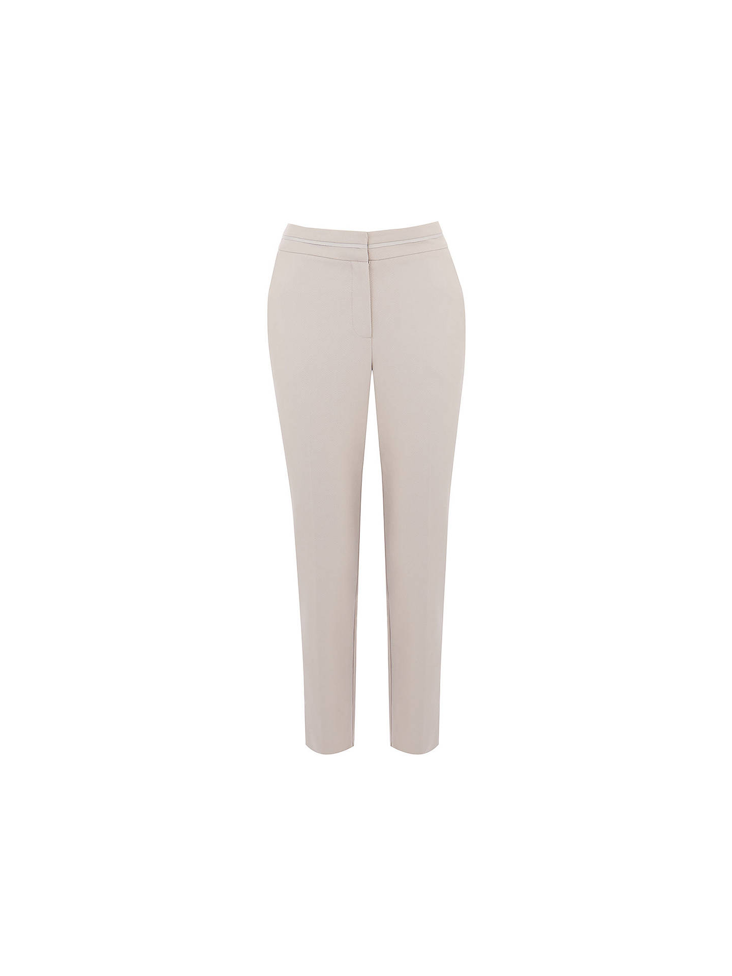 ec6dec05fe83 ... Buy Oasis Camila Split Detail Trousers, Mid Grey, 8 Online at  johnlewis.com ...