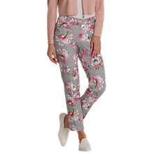 Buy Betty & Co. Floral And Mesh Print Trousers, Grey/Pink Online at johnlewis.com