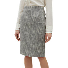 Buy Jaeger Textured Pencil Skirt, Multi Online at johnlewis.com
