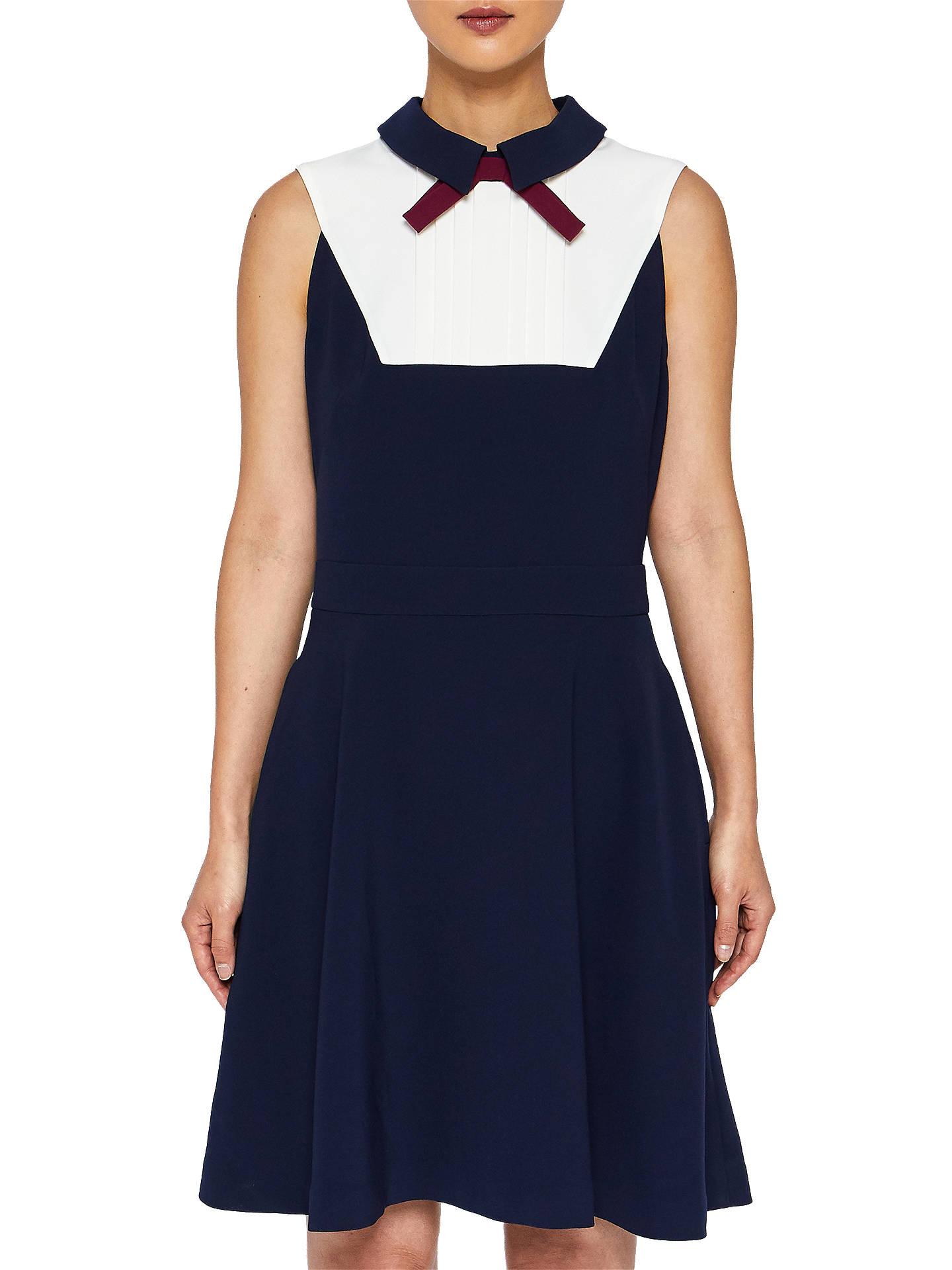 f63fc56b8f BuyTed Baker Miyylee Collared Bib Dress