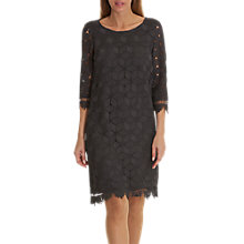 Buy Betty & Co. Lace Shift Dress, Night Silver Online at johnlewis.com