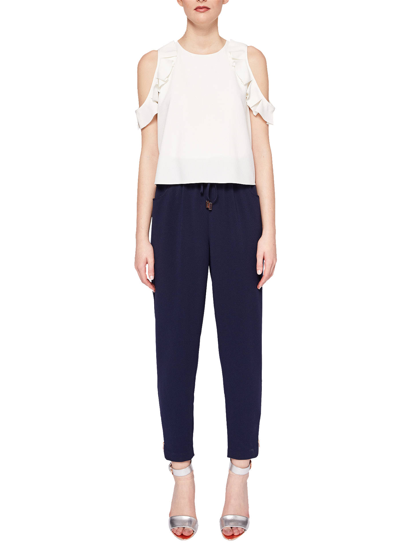 ae238252f9 Buy Ted Baker Lulay Cold Shoulder Jumpsuit