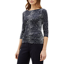 Buy Jaeger Speckle Top, Multi Online at johnlewis.com