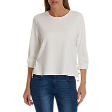 Buy Betty & Co. Drawstring Sweat Top, Star White Online at johnlewis.com