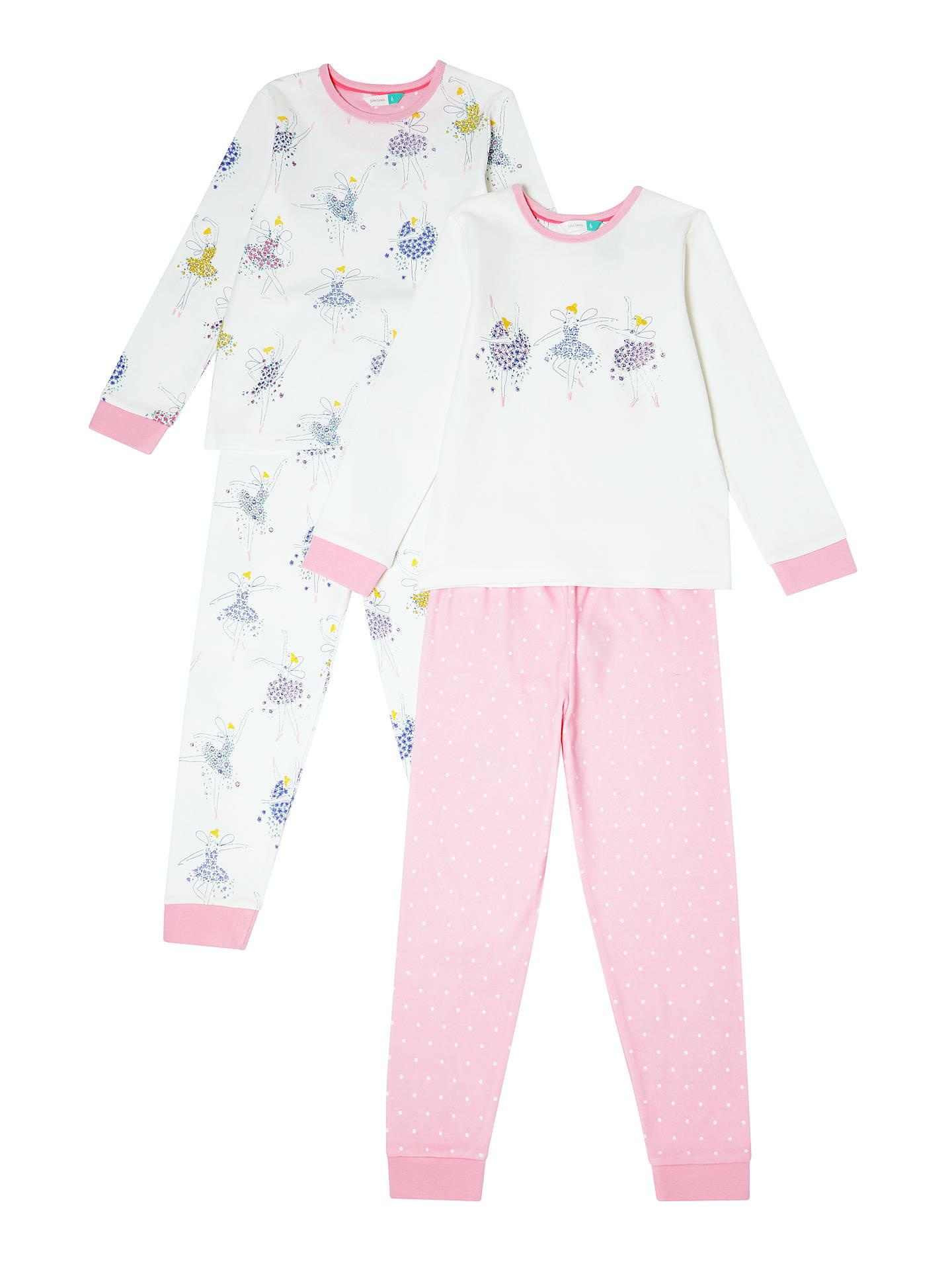d3a9fcd5e2da John Lewis   Partners Girls  Floral Fairies Pyjamas