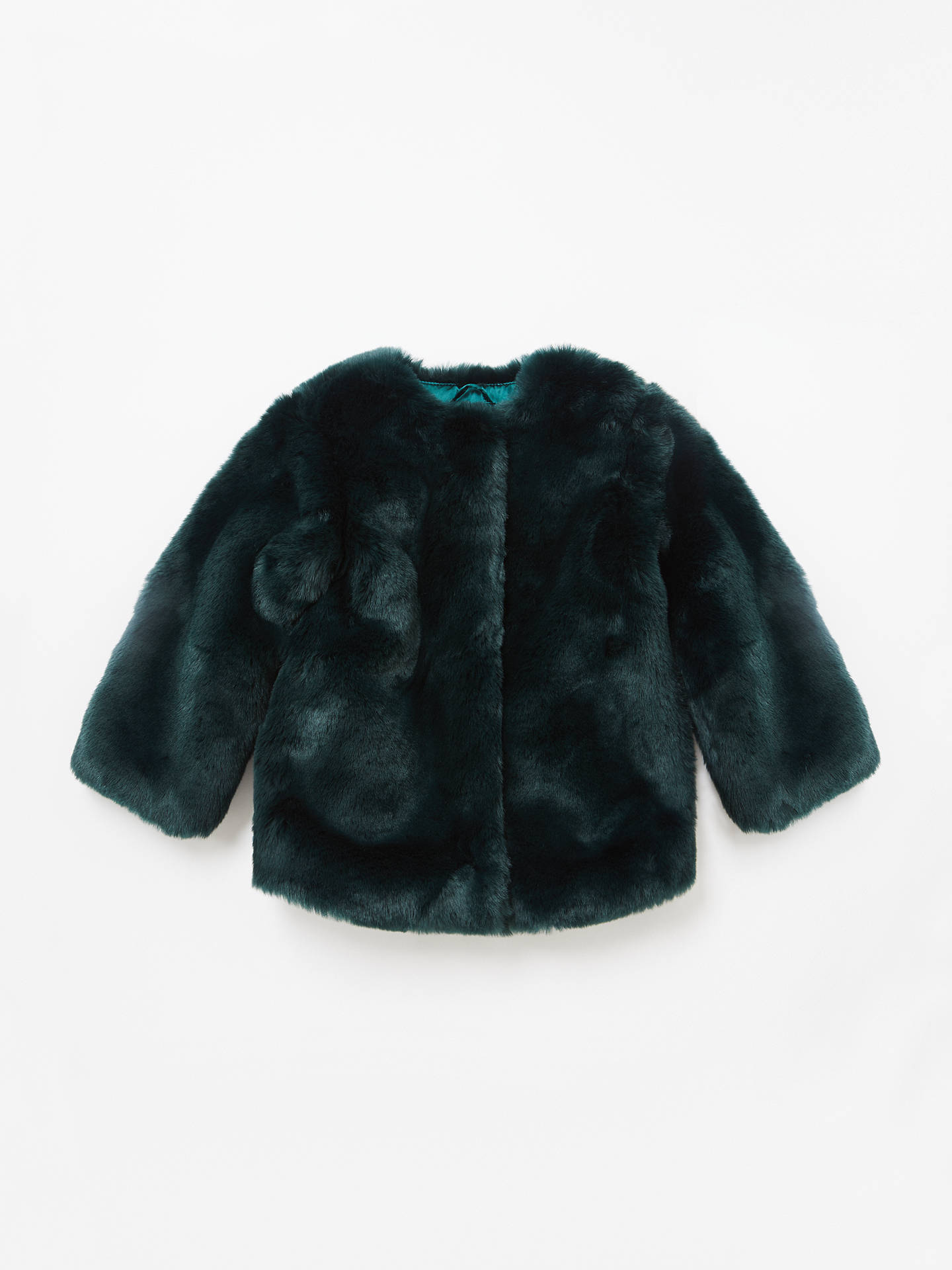 10293a747c5d John Lewis   Partners Girls  Faux Fur Coat