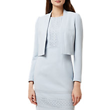 Buy Hobbs Evadine Jacket, Duck Egg Blue Online at johnlewis.com
