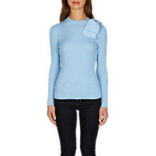Buy Ted Baker Bow Detail Jumper, Grey Online at johnlewis.com