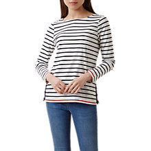 Buy Hobbs Marine Breton Top, Multi Online at johnlewis.com