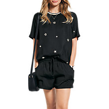 Buy hush All Star Embroidered Top Online at johnlewis.com