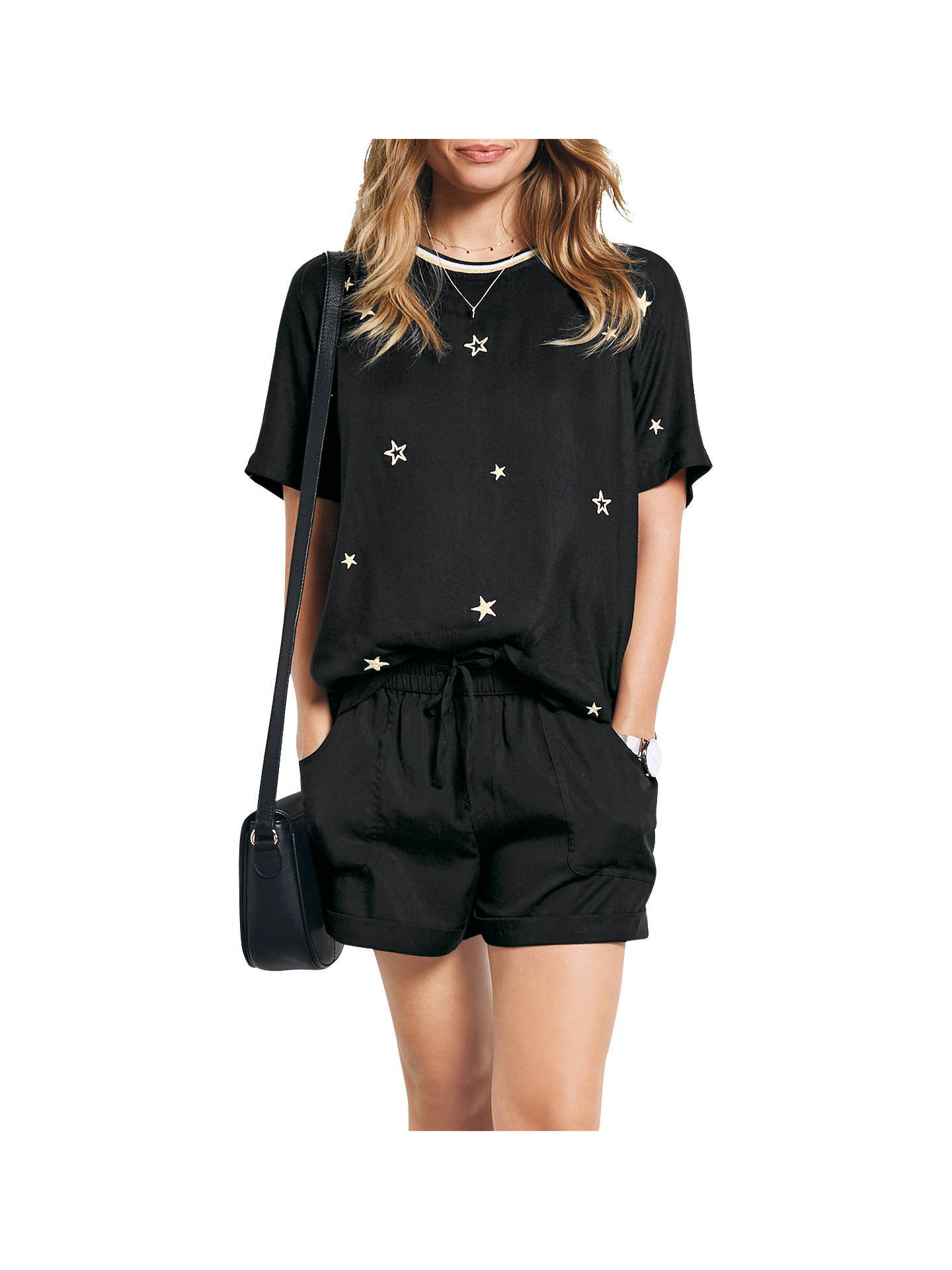 9db20326f991 hush All Star Embroidered Top at John Lewis   Partners