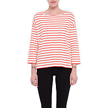 Buy French Connection Eso Tim Tim Top, Classic Cream/Sunset Online at johnlewis.com