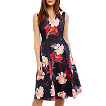 Buy Phase Eight Elba Fit and Flare Floral Dress, Navy Online at johnlewis.com