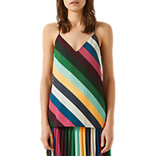 Buy Jigsaw Multi Stripe Cami Top, Multi Online at johnlewis.com
